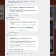 Visão interna de um projeto - atividades - Editado