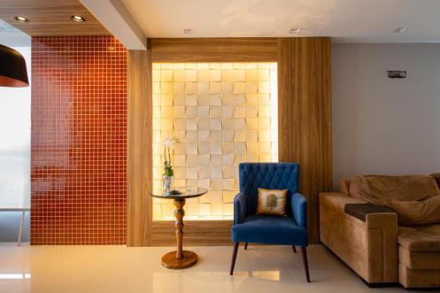 Iluminação pode ser explorada junto ao mobiliário