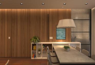 Apartamento Bitha - Cozinha fechada