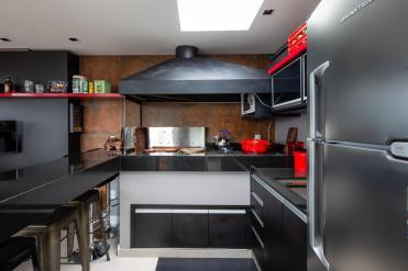 Área de pariila e churrasco - Apartamento LAB