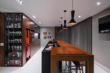 Residência GJAB - área Gourmet